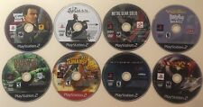 Destroy All Humans GTA Liberty Spider-Man Devil May Cry 2 Hitman MGS PS2 Lot