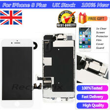 For iPhone 8 Plus White Screen Replacement Touch Digitizer LCD Camera Assembly