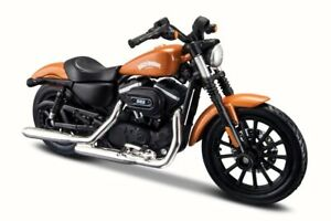 SPORTSTER IRON 883 HARLEY DAVIDSON Motorcycle BIKE 2014 MAISTO SERIES 34 1/18