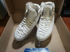 New listing Risport Rf3 White 205 Boots with Mk Professional 7 3/4 Blades Figure Skates
