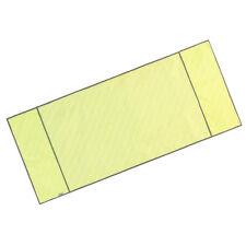 Blesiya Washing Machine Top Dust Cover Oxford Cloth Dustproof Roller Yellow