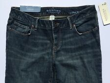 Sonoma Mid Rise Demi Boot Cut Jeans Women Size 6P NWT