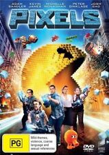 Pixels (Dvd) Adam Sandler, Kevin James Action, Comedy, Animation, Family Sci-Fi