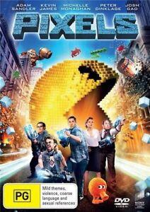 Pixels (DVD, 2015) Australian Stock