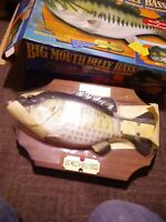 Big Mouth Billy Bass The Singing Sensation 1999 Gemmy Take Me To The River .