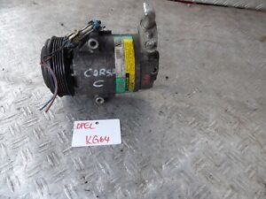 Klimakompressor Opel Astra Corsa C 09132918 NU (KG64)