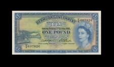 "1966 BRITISH COLONY BERMUDA 1 POUND QEII ""Y/2"" (( aUNC ))"