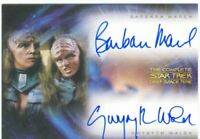 Complete Star Trek Deep Space Nine Dual Autograph Card DA2 March & Walsh