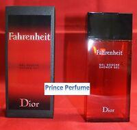 DIOR FAHRENHEIT SHOWER GEL - 200 ml