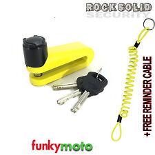 Rocksolid Warlock disclock Disco Cerradura 5.5 mm Pin Libre recordatorio Cable Tapa Gratis