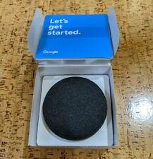 Google Home Mini Smart Speaker with Google Assistant - Charcoal (GA00216-US)