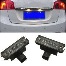 2pcs Number License Plate Light Rear Lamp For VW GOLF MK 4 5 6 JETTA POLO PASSAT