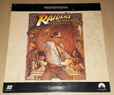 """Raiders of the Lost Ark - 12"""" Laserdisc, Laser Disc, LD, 1981 -VG- free shipping"""