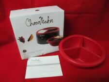Choco Maker Fondue Melter With 3-CavityTray SILICONE INSERT ONLY