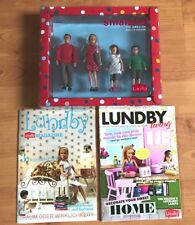 4 er Set - Puppenhaus Familie - Eltern & Kinder von LUNDBY + 2 Magazine