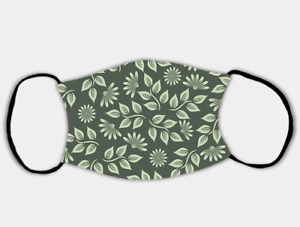 Nature Green Adjustable Face Mask with 2 x PM2.5 Filters