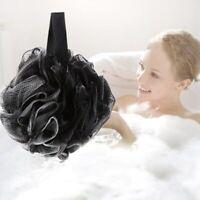 Sponge Bath Shower Mesh Body Brush Exfoliating Scrubber Puff Ball Flower Large
