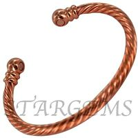 LADIES MENS MAGNETIC COPPER BRACELET ARTHRITIS HEALING PAIN RELIEF GIFT WOMENS