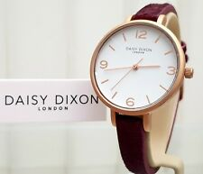 New DAISY DIXON Watch Mulberry Poni Fur Leather strap  GIFT for Her ! RRP £79 !