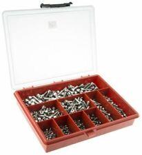 RONDELLE SET VITI BULLONI ZINC 740 assortiti Grade 8.8 BOX KIT M6 Nuts /& Nylocs