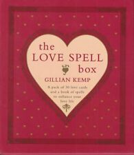 The Love Spell Box 30 Potent Spells to Enhance Your Love Life by Gillian Kemp