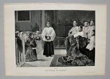 Original-Holzschnitte (1800-1899) mit Religions-Motiv von 1800-1899