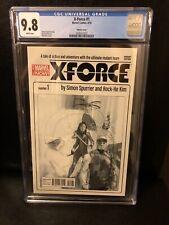 X-Force #1 Phil Noto Sketch Variant CGC 9.8