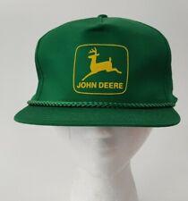 John Deere Green Trucker Farm Cord Bill Snapback Hat OSFA #2