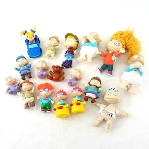 Nickelodeon Rugrats PVC Action Figures Toy Lot Set of 17 Pieces