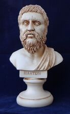 Plato Bust greek statue  NEW Free Shipping - Tracking