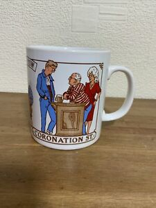 Coronation Street Then and Now Rovers Return Vintage Kilncraft  collectable Mug