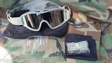 Revision Desert Locust US Military Ballistic Goggles Kit Smoke & Clear Lens