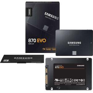 """Samsung 870 EVO 500GB 2,5"""" SATA III SSD Interno (MZ-77E500B/EU)"""