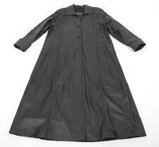 G706 Damen Echt Ledermantel Lammleder Mantel 36 - Matrix Long Lamb Leather Coat