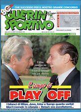 GUERIN SPORTIVO-1992 n.8- BONIPERTI/BERLUSCONI-THOMAS - FILM CAMPIONATO
