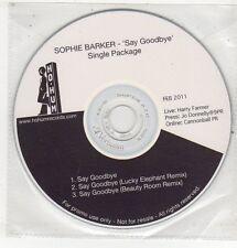 (ET746) Sophie Barker, Say Goodbye - 2011 DJ CD
