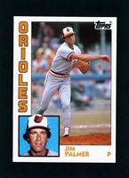 1984 Topps Jim Palmer  #750                   A435