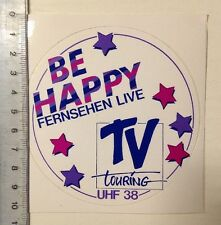 Decal/Sticker: TV Touring-Be Happy-TV live (02031637)