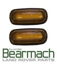 LED Amber Indicator Side Repeater Lamp (Pair) - Land Rover - XGB000030LED