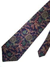 """Viaggio Men's Silk Neck Tie Floral Snake Buckles 3 3/4"""" x 58"""""""