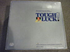 Tough Luck Board Game Skill & Chance for Streetwise Kids 1987 with Ball-O-Matic