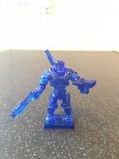 halo mega bloks figures UNSC spartan Translucent Blue