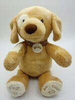 Baby Gund Sing ABC 123 Spunky Plush Animated Infant Toy Tan Dog Puppy TESTED