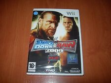 WWE SMACKDOWN VS. RAW 2009 Wii (PAL ESPAÑA PRECINTADO)