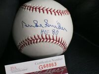 Duke Snider Autographed Baseball JSA Certified