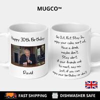 Personalised Boris Johnson Funny Birthday Mug Virus NHS Gift 2020 Prime Minister