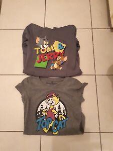 JAY JAYS TOM & JERRY LONG SLEEVE TOP,  TOP CAT T-SHIRT
