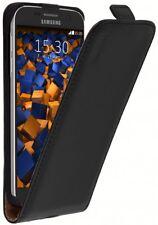 mumbi Ledertasche für Samsung Galaxy S7 Tasche Schutzhülle Case Cover schwarz
