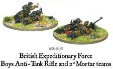 WARLORD GAMES Bolt ACTION British BEF ANTI TANK Fucile e luce Mortaio Team