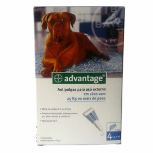 Bayer Adv. 400 Extra Large Dogs 4 Pipettes   FREE SHIPPING